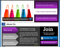 Designer, developer, Mystery Shopper Portal System