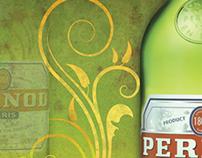 """Pernod"" Vintage Theme Bistro Poster"