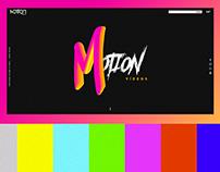 Motion Vídeos - UI/UX WebSite Responsive