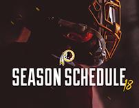 Redskins - 2018 Schedule Release