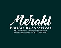 Meraki Vinilos decorativos