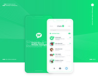 Whatsapp Mobile App Concept