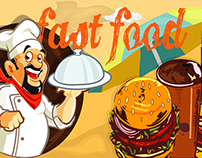 Food court banner design2. (for client)