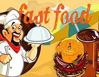 Food court banner design2. (for client)
