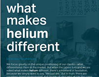 what makes helium different