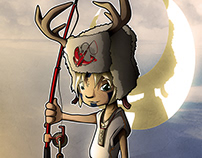 Fisherboy - vector artwork by Wam2020