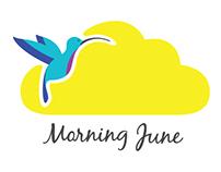 Logo & business cards for Morning June
