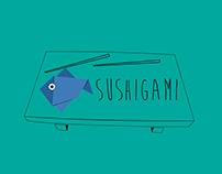 Sushigami - Logo & Identity