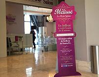 Display para salón de belleza - Mélisse