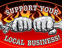 Support your local business! T-Shirts
