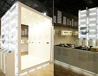 Norisys exhibition stand at Acetech Mumbai 2012