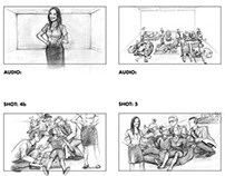 BUPA Health Insurance - Storyboards