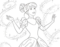 Disney Princess new redesign - Style Guide Art