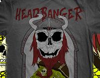 The Viking Skull, Headbanger Clothing
