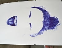 Blue Biro Live Art