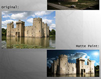 Some matte paintings