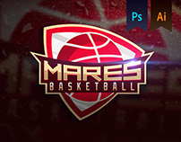 MARES Basketball Team Logo