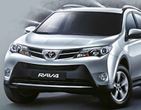 Key Visual Toyota RAV4