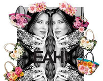 EAH! black Label Flower Summer bags 2012