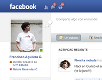 Free PSD: Facebook redesign