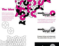 vinyl promotion/logo/articles and posters