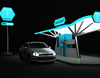 TANKOMAT - Gas Station Design