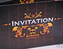 Invitation VIP Ankama Convention