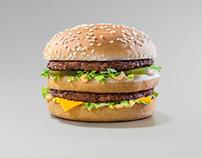 """Malou Burger """"McDonalds"""""""