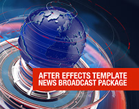 News Broadcast Design Package | News Ident