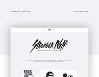 Stranger Wolf - Web design