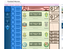 Football Meister Navigation Wire-framing
