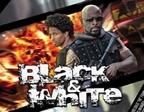 Black & White TV Series Poster