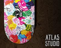 Shape Design - Sticker bomb