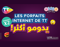 Tunisie telecom : *140#