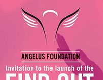 Angelus foundation Invite Design