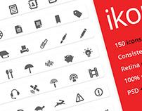 ikonic: 150 vector icons (25 free)