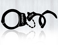 Amparo Vega Logo Design