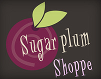 Sugar Plum Shoppe Logo Design