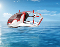 Concept Emergency Seaplane