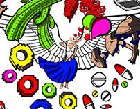 Ilustración: LA TORRE DE BABEL