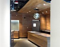 Coffee Shop - Amazon Building, Seattle, WA.