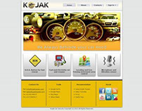 Kojak WebSite Design