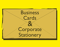 Business Cards & Corporate Stationery