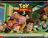 Toy Story 3 | iPad Finger Painting