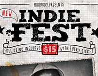 Indie Fest Poster (Hi-Res PSD)