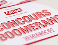 Concours Boomerang 2011