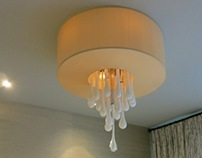 Milk Drop Chandelier for Holly Kopman Design