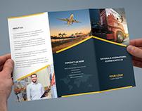 Brochure – Logistic Tri-Fold Template