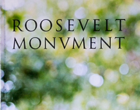 Roosevelt Monument Typographic Study Book (Day)