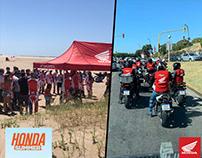 EVENT: #HondaSummer Travesía África Twin + Clínica CRF